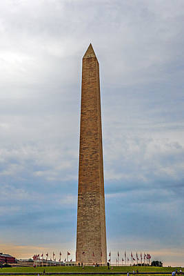 Photograph - Washington Monument by Sennie Pierson