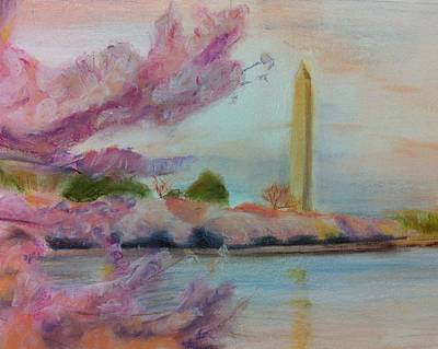 Washington Monument Drawing - Washington Monument by Tiffany Albright