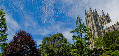 Art Print featuring the photograph Washington National Cathedral by Michael Donahue