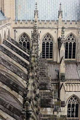 Photograph - Washington National Cathedral. Usa by Ausra Huntington nee Paulauskaite