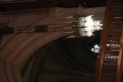 Stainglass Window Photograph - Washington National Cathedral - Washington Dc - 0113103 by DC Photographer
