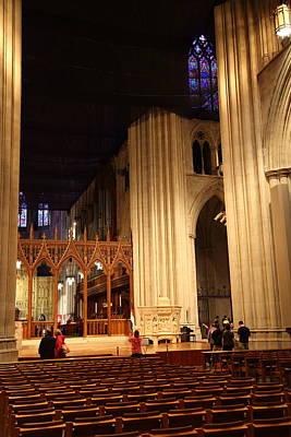Granite Photograph - Washington National Cathedral - Washington Dc - 011312 by DC Photographer