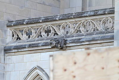 Cross Photograph - Washington National Cathedral - Washington Dc - 01134 by DC Photographer