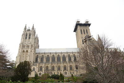 Building Photograph - Washington National Cathedral - Washington Dc - 011346 by DC Photographer