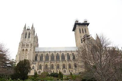Christ Photograph - Washington National Cathedral - Washington Dc - 011346 by DC Photographer