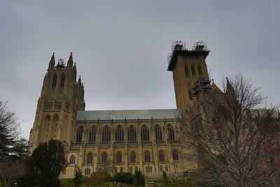 Hall Photograph - Washington National Cathedral - Washington Dc - 011347 by DC Photographer