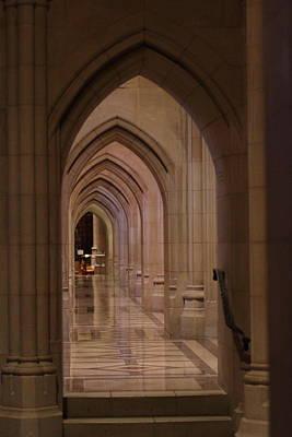 Stainglass Window Photograph - Washington National Cathedral - Washington Dc - 01136 by DC Photographer