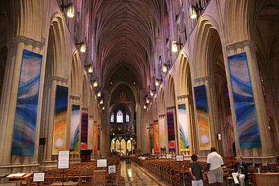 Washington National Cathedral - Washington Dc - 011376 Art Print