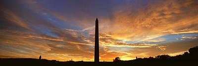 Washington Nationals Photograph - Washington National Monument At Sunrise by Panoramic Images