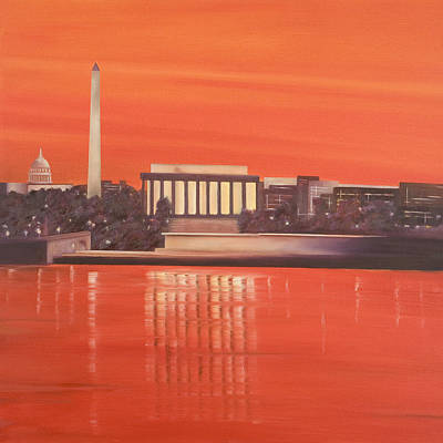 Painting - Washington by Neil Kinsey Fagan