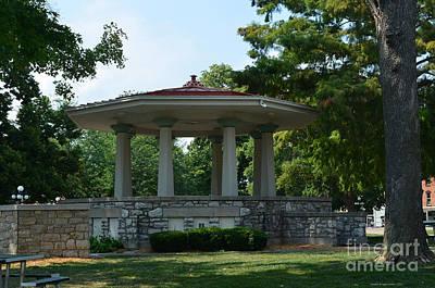 Photograph - Washington Park Gazebo by Luther Fine Art