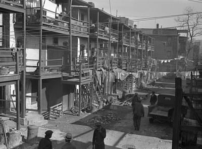 Photograph - Washington Slum, 1935 by Granger