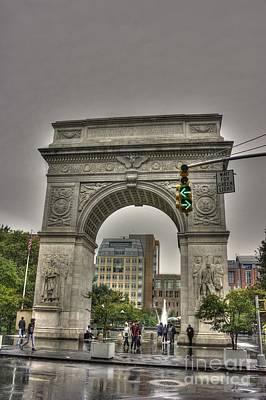 Photograph - Washington Square by David Bearden