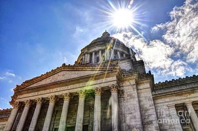 Washington State Capitol Art Print