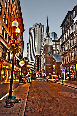 Photograph - Washington Street In Boston by Toby McGuire
