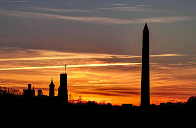 Photograph - Washington Sunset by Walt  Baker
