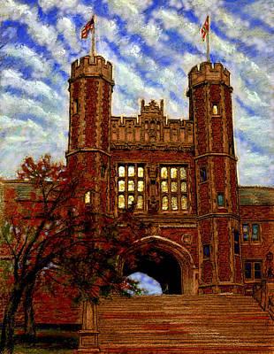 Painting - Washington University by John Lautermilch