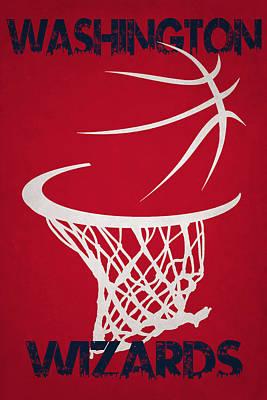 Washington Wizards Hoop Art Print