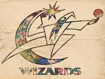Painting - Washington Wizards Poster Art by Florian Rodarte