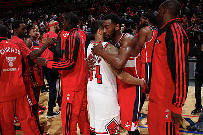 Chicago Photograph - Washington Wizards V Chicago Bulls - by Gary Dineen