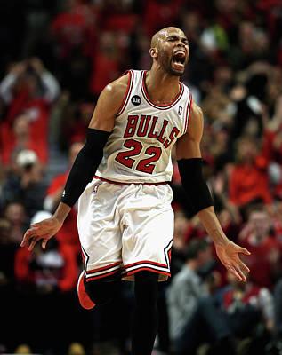 Photograph - Washington Wizards V Chicago Bulls - by Jonathan Daniel
