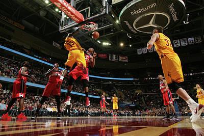 Photograph - Washington Wizards V Cleveland Cavaliers by David Liam Kyle
