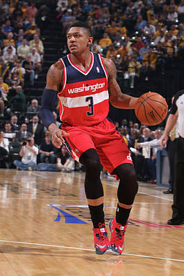 Photograph - Washington Wizards V Indiana Pacers - by Gary Dineen