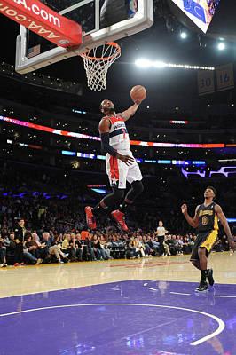 Photograph - Washington Wizards V Los Angeles Lakers by Noah Graham