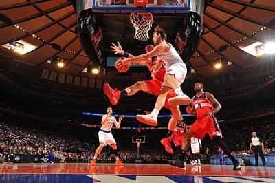 Photograph - Washington Wizards V New York Knicks by Jesse D. Garrabrant
