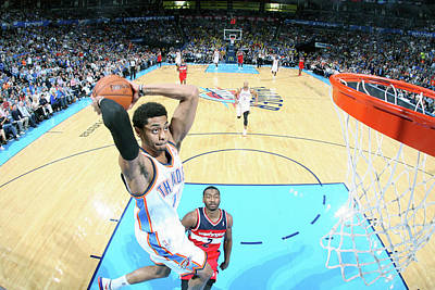 Photograph - Washington Wizards V Oklahoma City by Layne Murdoch Jr.