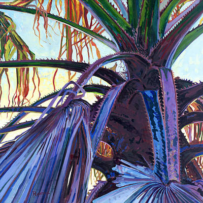 Painting - Washingtonia by David Randall