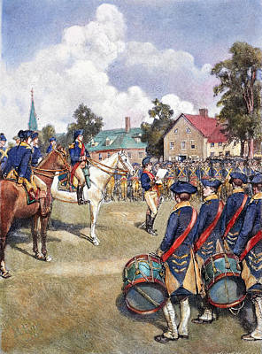Photograph - Washingtons Army, 1776 by Granger
