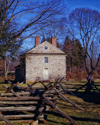 Washington's Headquarters - Valley Forge Art Print by Mountain Dreams