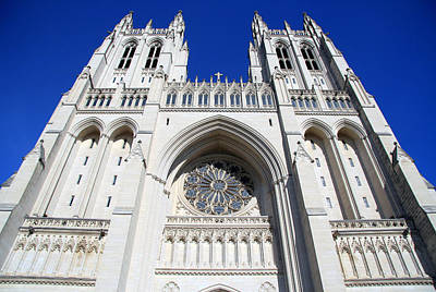 Helen Paul Photograph - Washington's National Cathedral by Cora Wandel