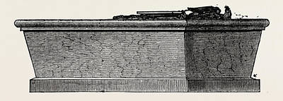 Vern Drawing - Washingtons Sarcophagus, Mount Vernon, United States by American School