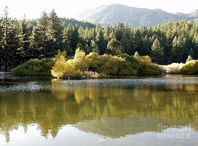 Art Print featuring the photograph Washoe Valley by Carol Sweetwood