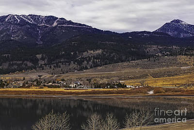 Washoe Valley Art Print by Nancy Marie Ricketts