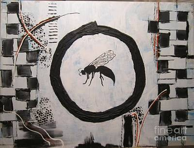 Painting - Wasp 2013 by Christal Kaple Art