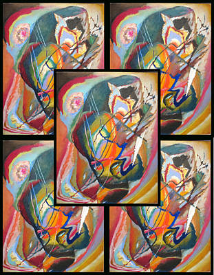 Bed Spread Painting - Wassily Kandinsky 2 by Wassily Kandinsky