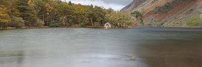 Photograph - Wast Water Boat House by Nick Atkin
