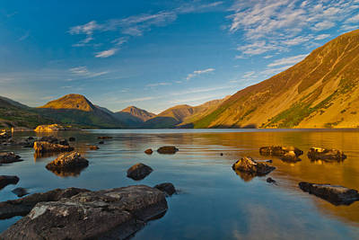Wast Water Lake District Art Print by David Ross