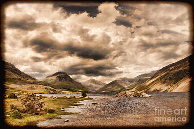 Photograph - Wast Water Lake District England by Colin and Linda McKie