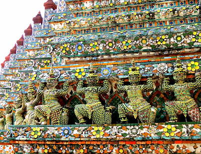 Photograph - Wat Arun by Ramona Johnston