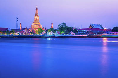 Photograph - Wat Arun Temple Bangkok Thailand by Deimagine