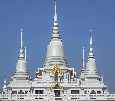 Photograph - Wat Asokaram Phra Thutangkha Chedi Dthsp0005 by Gerry Gantt