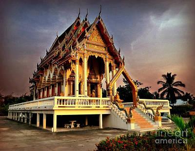 Photograph - Wat Barn Buddhist Temple by Ian Gledhill