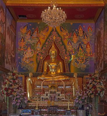 Thon Photograph - Wat Bukkhalo Phra Ubosot Buddha Image Dthb1801 by Gerry Gantt