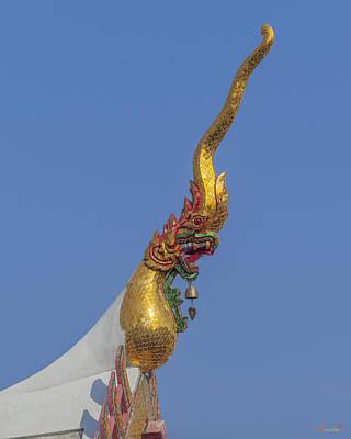 Thon Photograph - Wat Bukkhalo Phra Wihan Roof Chofah Dthb1807 by Gerry Gantt