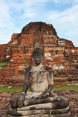 Ayutthaya Photograph - Wat Chaiwatthanaram, Ayutthaya by Keren Su