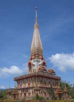 Photograph - Wat Chalong Phramahathat Chedi Dthp406 by Gerry Gantt